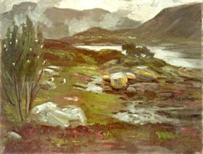 Historia om korleis vestlandsveret vart fanga i eit måleri
