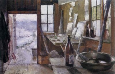 Malerskolens Atelier - Kalle Løchen
