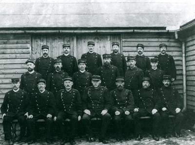 Kristiansands brannkorps i 1885
