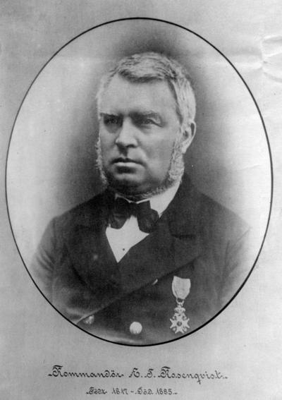 Kommandør Einar Tambarskjelve Rosenqvist