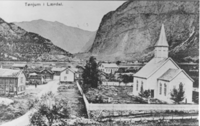 Gravferd på Mo i 1874