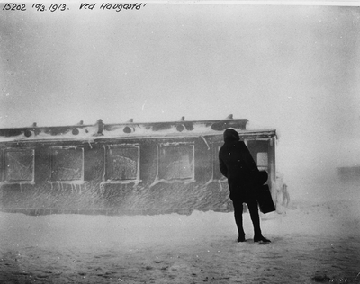 Snøblokaden i 1913