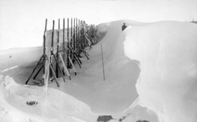 Snøskjermar ved Tunga