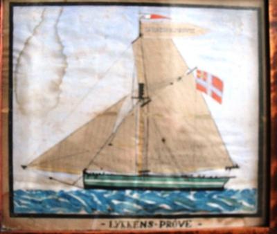 Lykkens Prøve – en seilskute fra forrige århundre