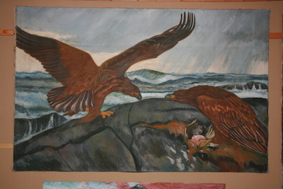 Kunstmålaren Harald Seim