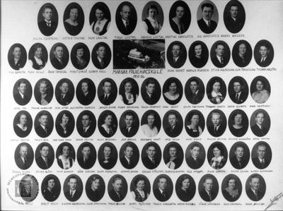 Marnar Folkehøgskole 1935-1936
