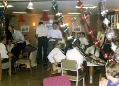 Julefeiring ombord i 'Wilstar' (b