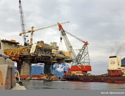 Bygging av TCP2 i Åndalsnes