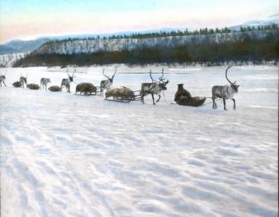 Fra foredragsrekken Landmålerlivet i Finnmark v/Axel Printz : Raidde