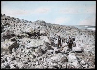 Fra foredragsrekken Landmålerlivet i Finnmark v/Axel Printz : Over steinørken