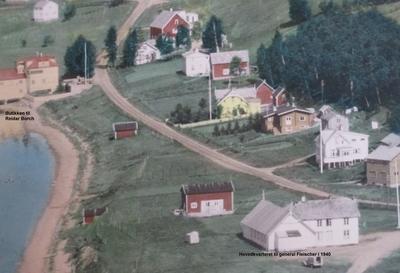 General Fleischers overnattingssted i 1940