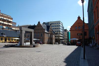 Byens sentrum