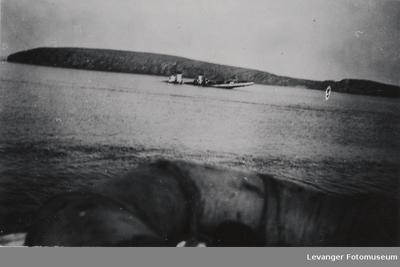 Synkende tysk destroyer