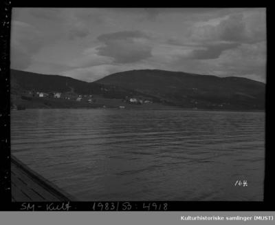Utsikt mot Vangsvik på Senja