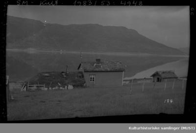 Hus og driftsbygning i Garradok ved Repparfjord