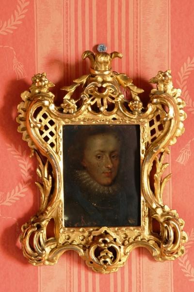 Portrettmaleri i ramme