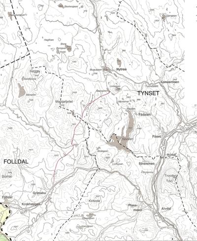 Byveien en snarvei til Pilgrimsveien mellom Gudbrandsdalen og Østerdalen