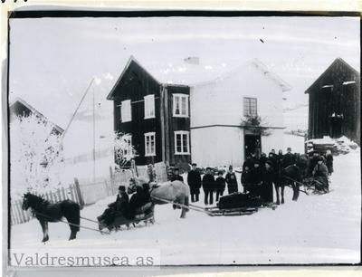 Gravferd i gamletunet på Sørre Røllång