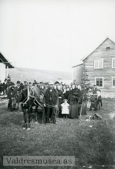 Gravferd på Kaata (Køta) i 1904 etter Ingeborg Arnesdotter