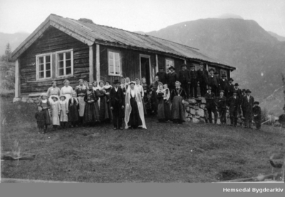 Bryllaupet til Birgit