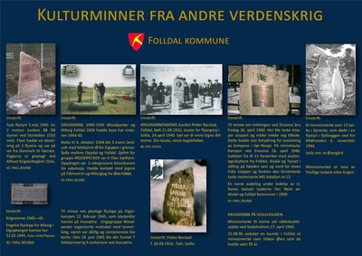 Krigsminnesmerker i Folldal