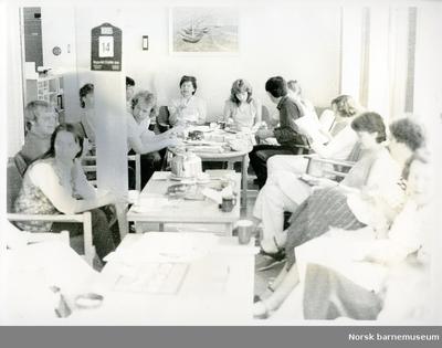 Lærere på lærerom, Gandal skole, Sandnes