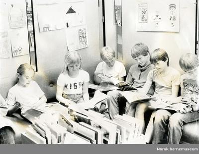 Elever i leserkroken, Sandnes