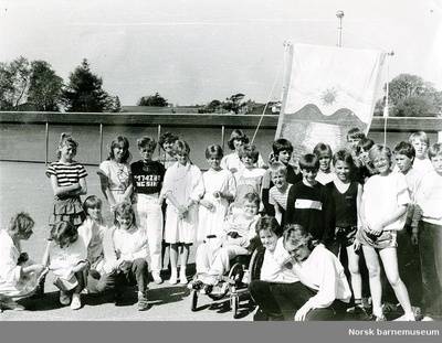 Ny fane, Lura skole, Sandnes