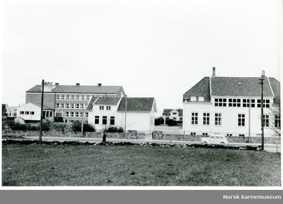 Trebygninger på Kvaleberg skole