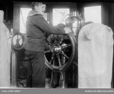 Stryrmann på et marinefartøy