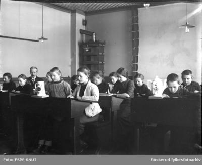 Skoletime i Hønefoss folkeskole