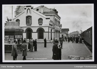 Levanger jernbanestasjon