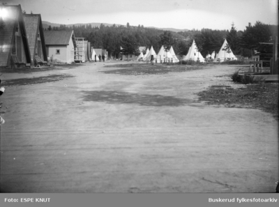 Hvalsmoen militær leir i Hønefoss
