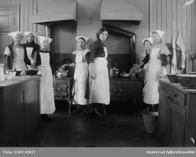 Skolekjøkken på Hønefoss folkeskole