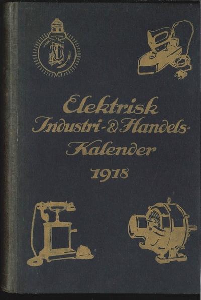 Elektrisk Industri- og Handels-Kalender 1918