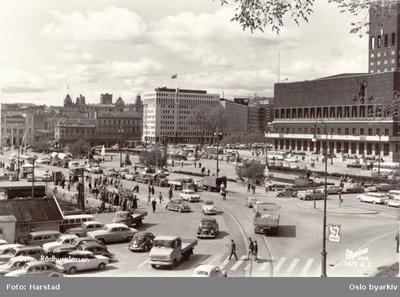 Trafikkmiljø på Rådhusplassen
