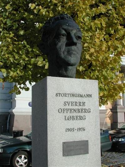 Byste av Sverre Løberg