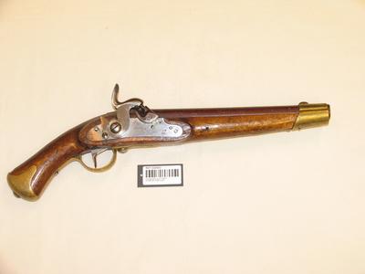 perkusjonspistol 21 lødig M1834/46 flankør