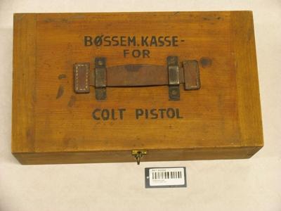 Bøssemakerkasse 11,25 mm pistol Colt