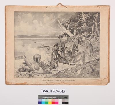 Fra steinalderen (Det indre av Kristianiafjorden)