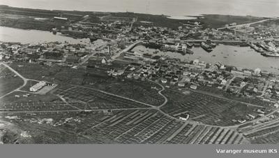 Flyfoto av Vardø