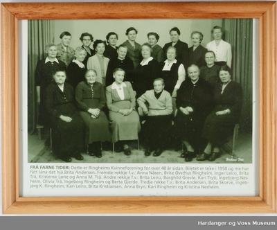 Ringheims Kvinneforening 1958
