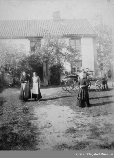 Johnsrud gård på Eidsvoll 1914