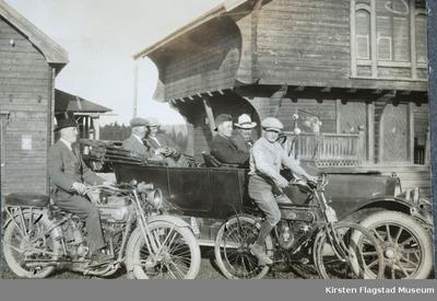 Johnsrud gård på Eidsvoll 1919