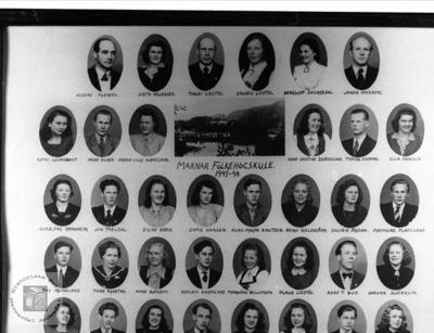 Marnar Folkehøgskole 1947-1948