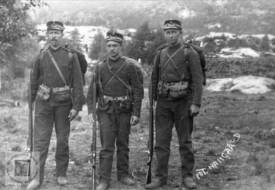 Soldater fra Øyslebø området