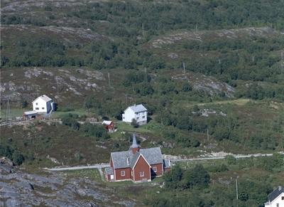 Bebyggelse ved Fillan kirke