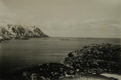 Fjell og fjordlandskap