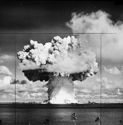 Atomsprengning