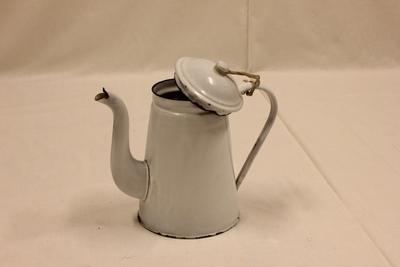 Kaffekanne med lokk